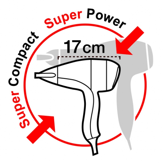 SN 9000Y RC компактный профессиональный фен