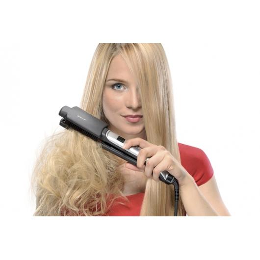 Насадка X-Brush из натуральной щетины для быстрого выпрямления и придания дополнительного блеска