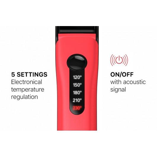 Цифровой терморегулятор с 5-юустановками: 120°C, 150°C, 180°C, 210°C, 230°C