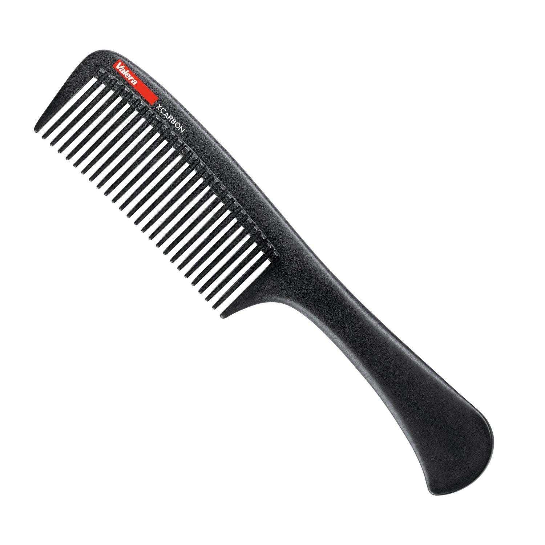 Valera X-Carbon Handle Comb 902.05 расческа для волос карбоновая с ручкой